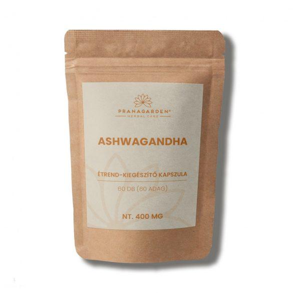 ASHWAGANDHA - Stresszmentes nappalok, nyugodt éjszakák, kiváló állóképesség